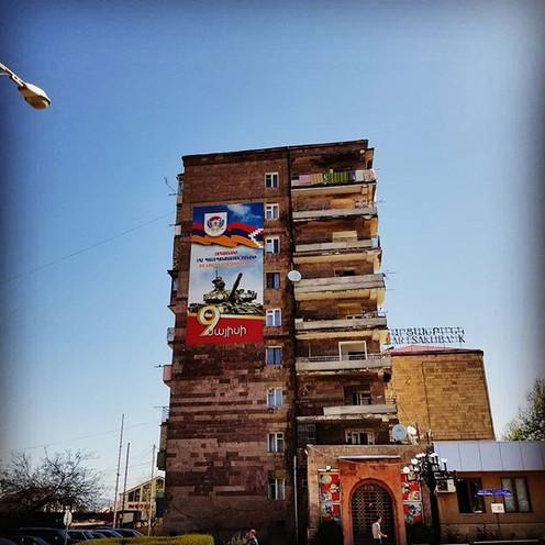 Apartment Building in Stepanaker