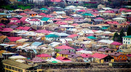 Houses in South Ossetia