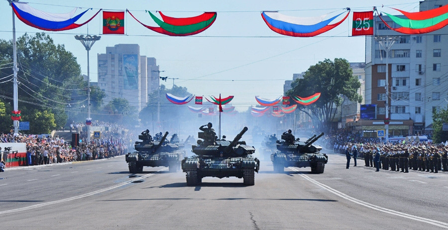 Military Parade in Transnistria