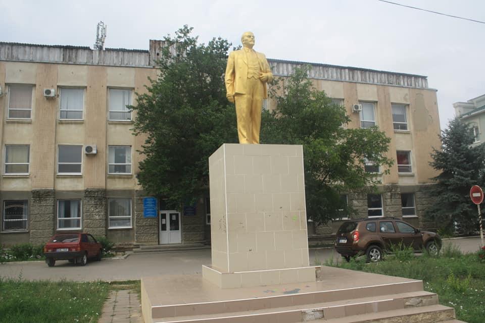 Statue of Vladimir Lenin in Gagauzia