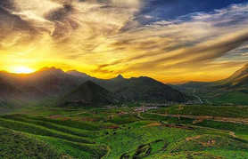 Sunset Over Iraqi Kurdistan