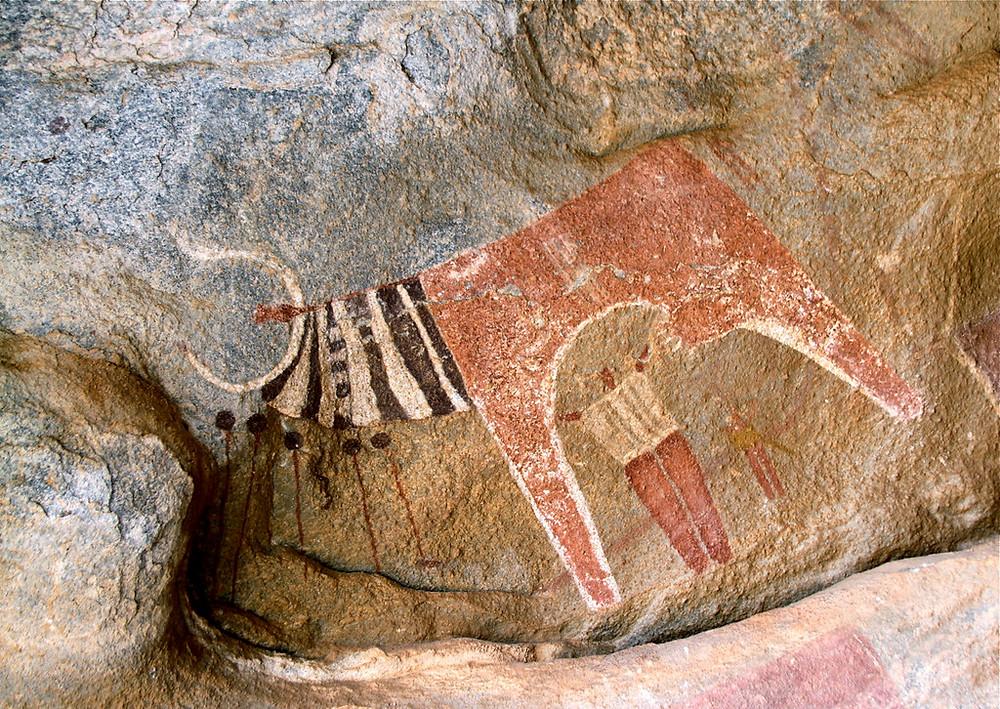 Laas Geel Cave Paintings in Somaliland