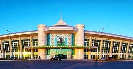 Turkmenbashi International Airport in Turkmenistan