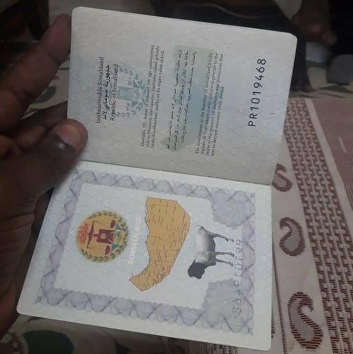 Passport of Somaliland