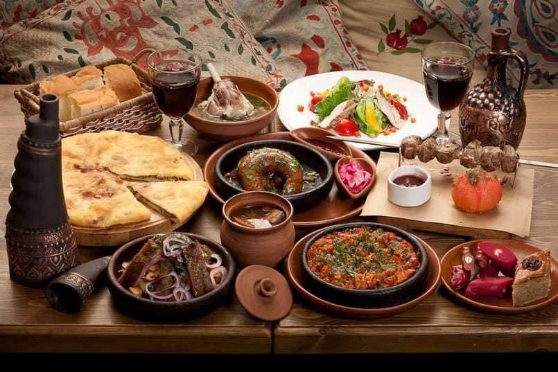 Traditional Armenian Cuisine in Nagorno Karabakh (Artsakh)