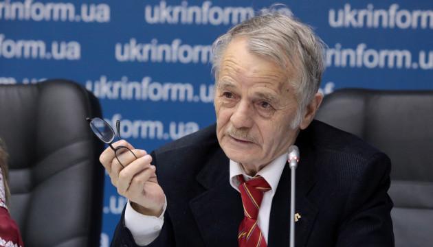 The leader of the Crimean Tatars