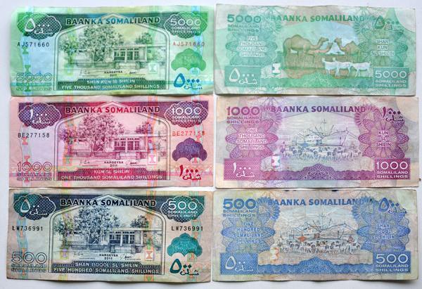 The Somaliland Shilling