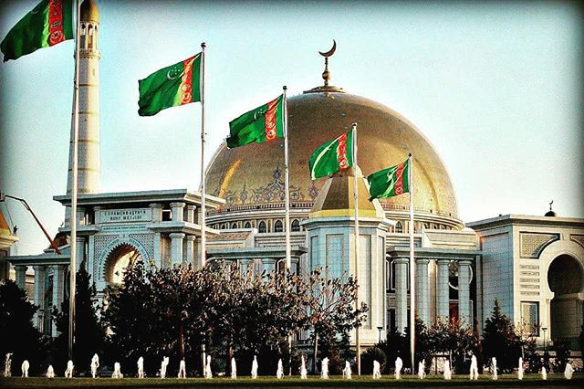 Mosque in Turkmenistan named after President Niyazov - Turkmenbashi