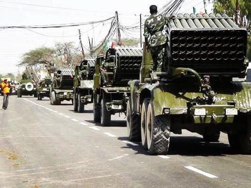 Military Parade in Somaliland