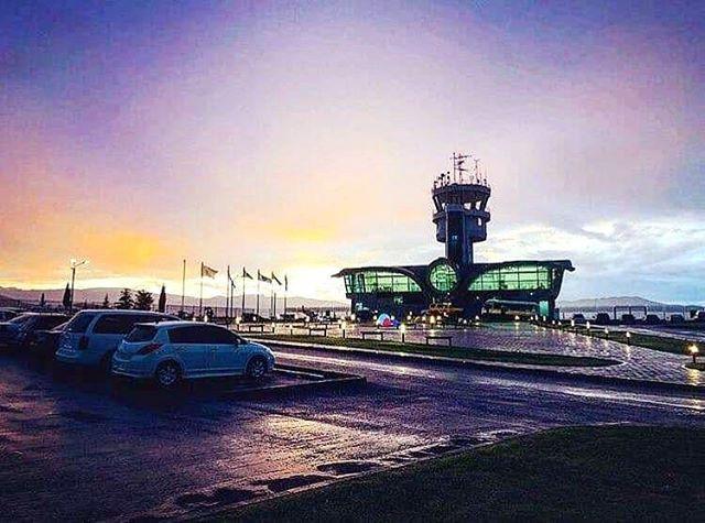 The unused airport in Stepanakert