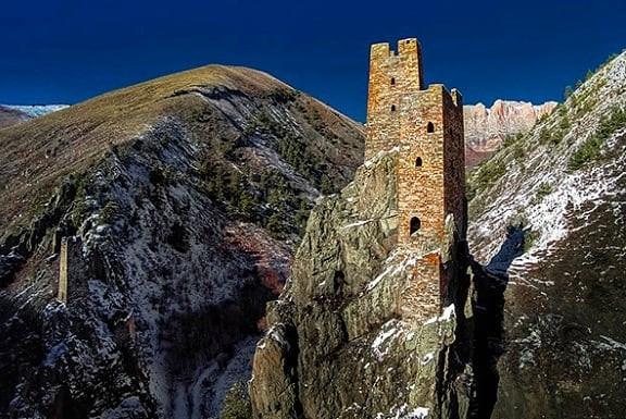 Vainakh Towers, North Caucasus