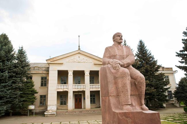 Statue of Lenin in Transnistria