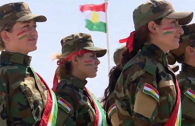 Female Peshmerga Soldiers
