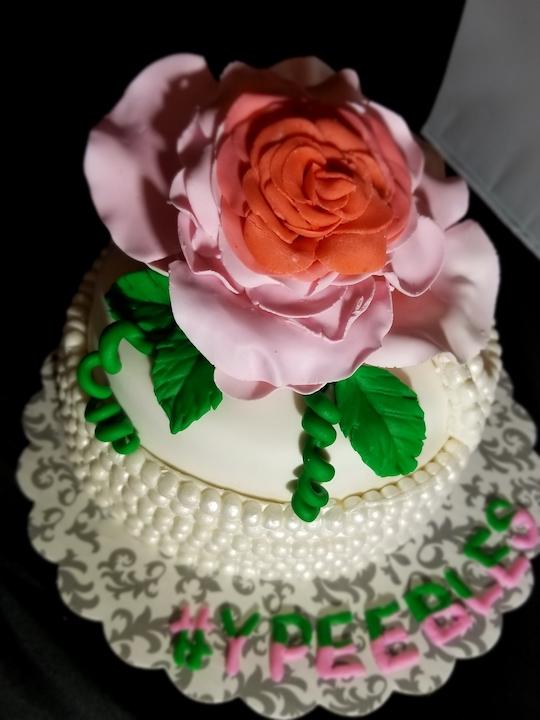 AKA Rose  Cake