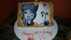 Badu Picture Frame Cake