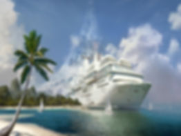 Travel agency for cruise line booking
