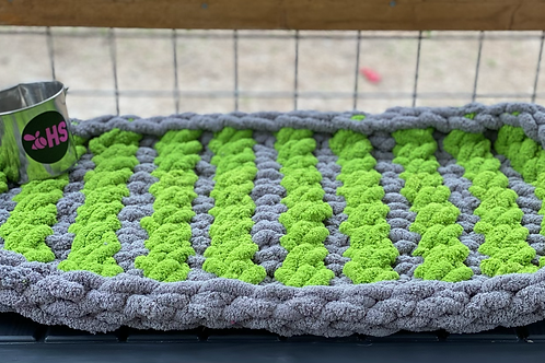 """Chenille-Double Layer Kennel Mat 19""""x34"""""""