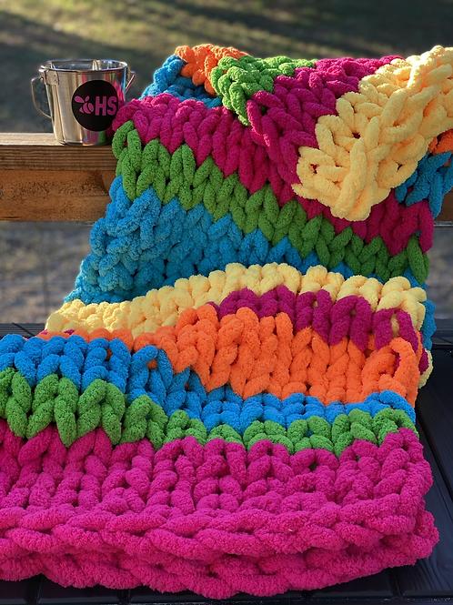 Chenille-Throw Blanket