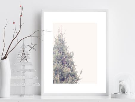 Printable Pine Tree Photography Art Print