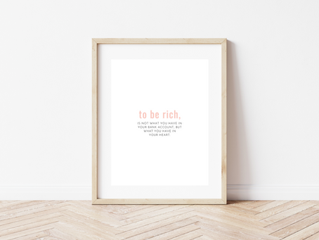 Free Printable Inspirational Art Print