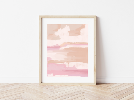 Free Printable Abstract Art Print