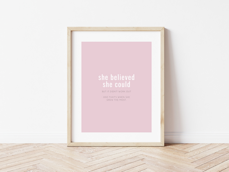 New Free Printable Inspo Quote