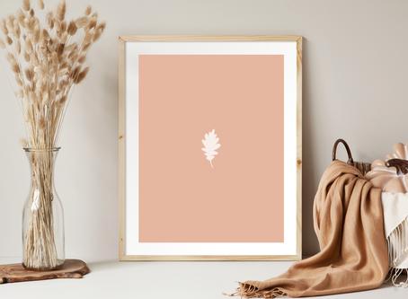 Free Printable Minimalist Style Fall Art Prints
