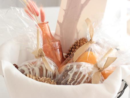 Simple Autumn Gift Basket