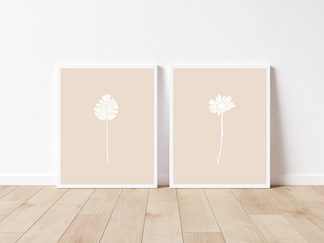 Free Printable Botanical Sketch Art Prints