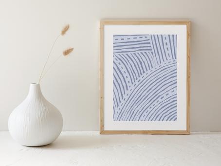 Global Design Printable Art Print