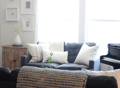 Alternative to a White Sofa