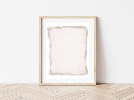 Free Printable Abstract: Serenity
