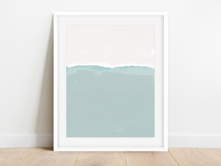 Free Printable Abstract: Tranquility