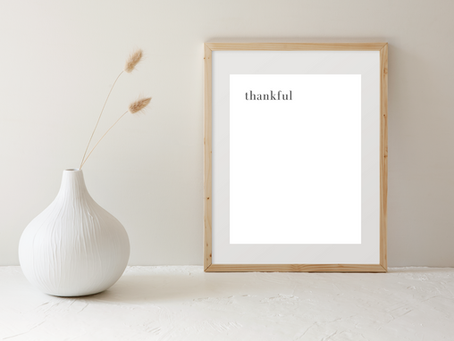 My Thoughts on Gratitude and a Free Printable