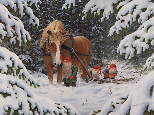 Julkort av Jan Bergerlind