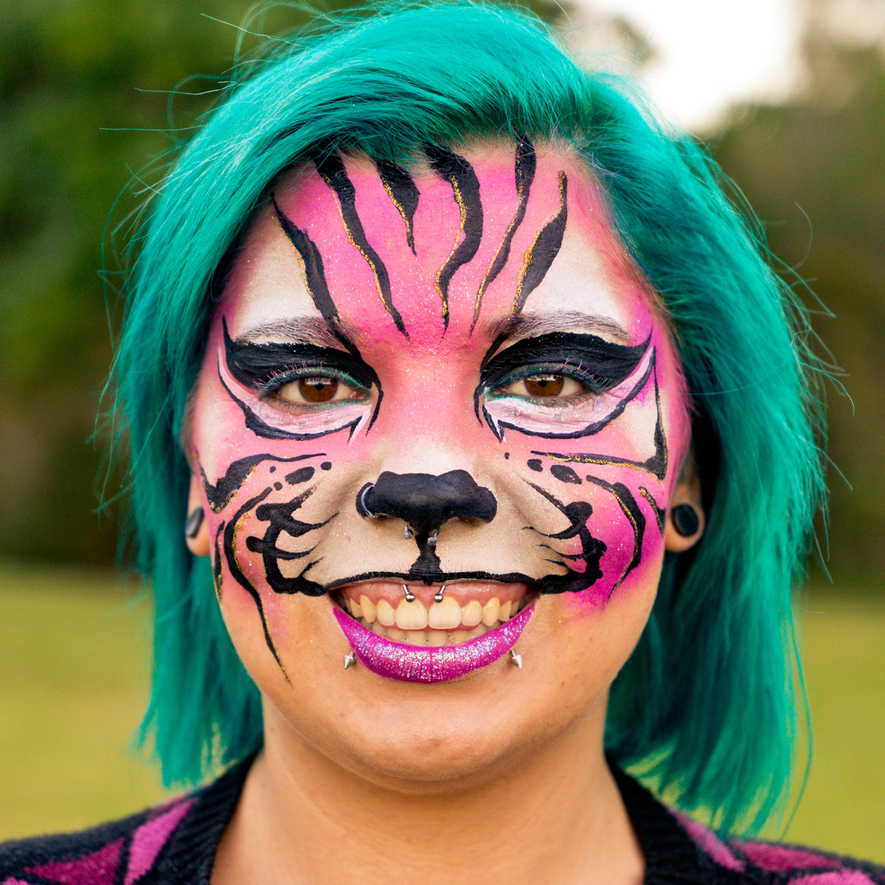 Tiger Face Paint Gold Coast