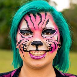 Tiger Face Paint Gold Coast