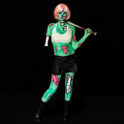 Pop Zombie Body Paint Gold Coast