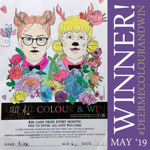 COLOUR COMPETITION WINNER (MAY 2019)