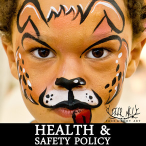 FACE PAINTING HEALTH & SAFETY POLICY