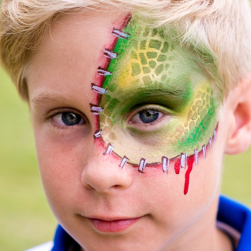 Reptile Face Paint GOLD COAST