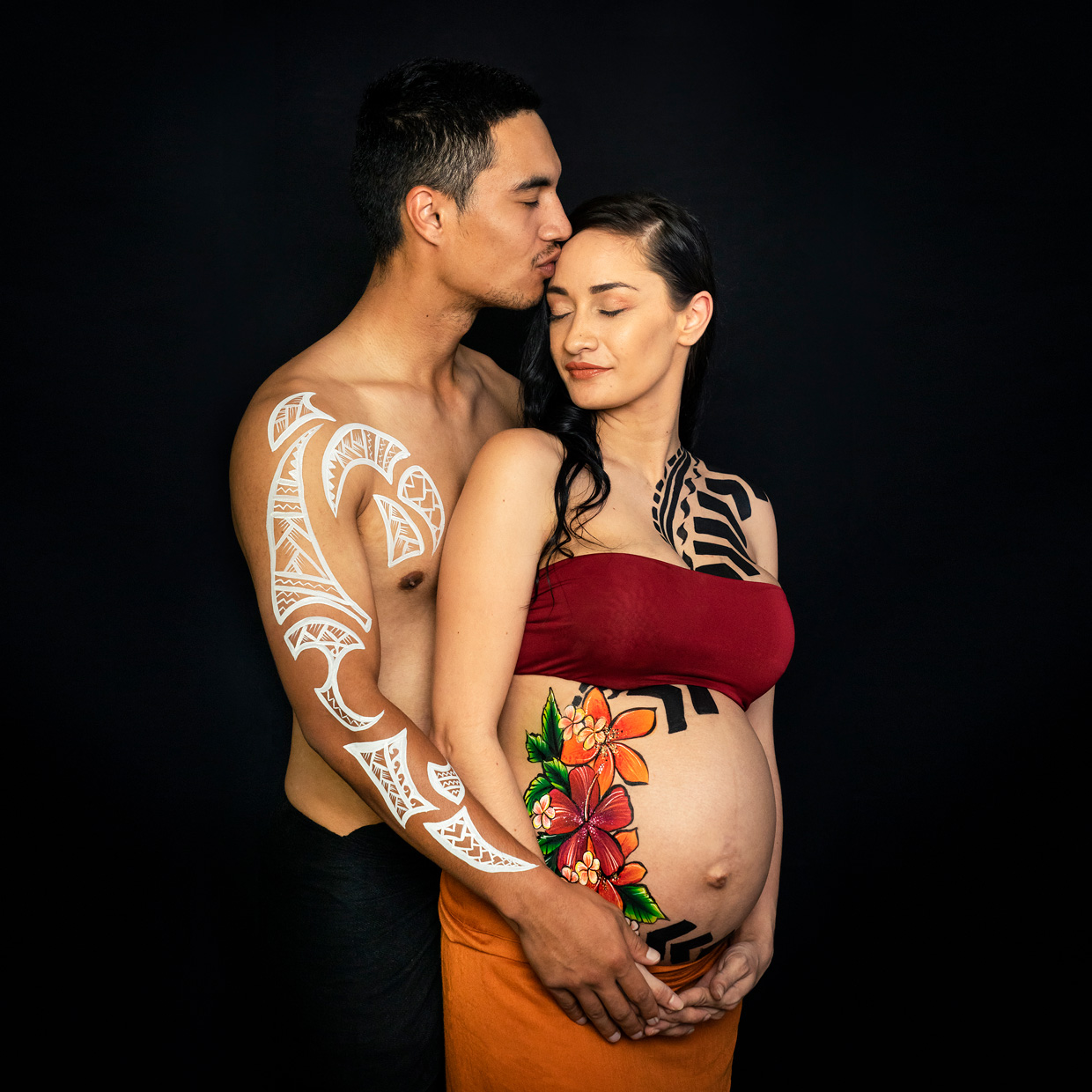 Polynesian Pregnancy Art Gold Coast