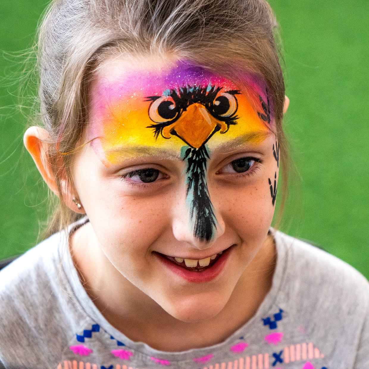 Emu Face Paint Gold Coast