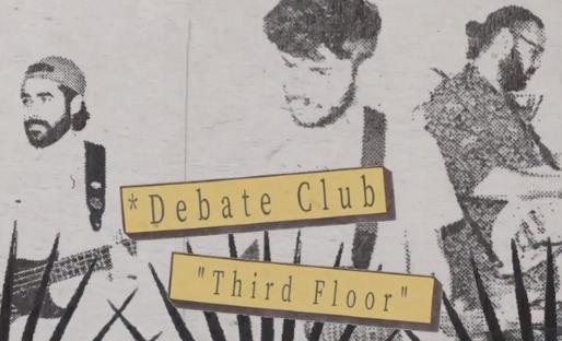 """Debate Club Dévoile Le Clip De L'obsédant Nouvel Extrait """"Third Floor"""""""