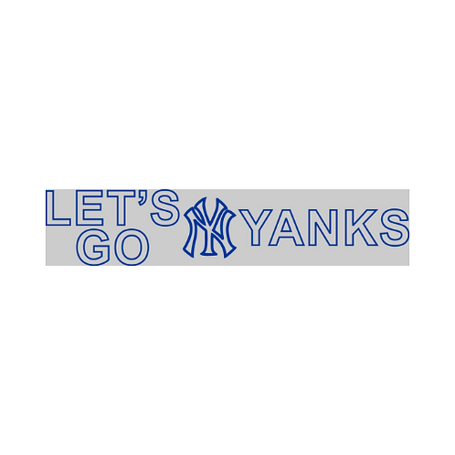 Youth: LET'S GO YANKS! T-SHIRT