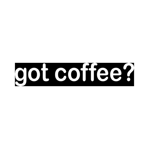 Got Coffee? T-Shirt