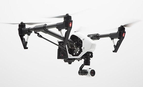 INPIRE 1 - 4K DRONE CAMERA  / met 1 operator startprijs