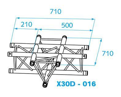 PROLYTE X-30D  KRUIS 016 - 1 dag huren