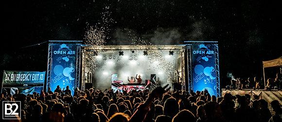 Festival DJ stage - prijs op aanvraag