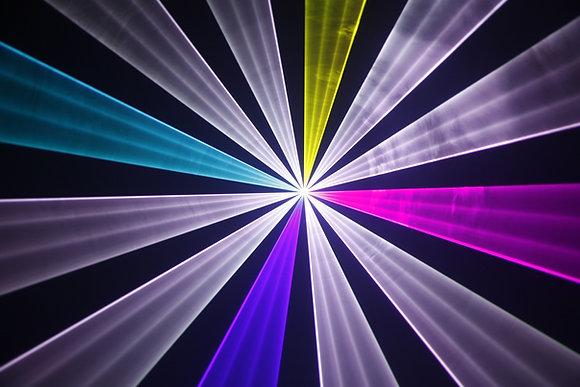 1,5 W Full Color Laser